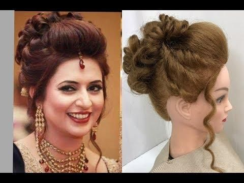 3 Beautiful Hairstyles With Puff Easy Wedding Hairstyles Easy And Beautiful Hairstyles Bun Hairstyles For Long Hair Easy Hairstyles