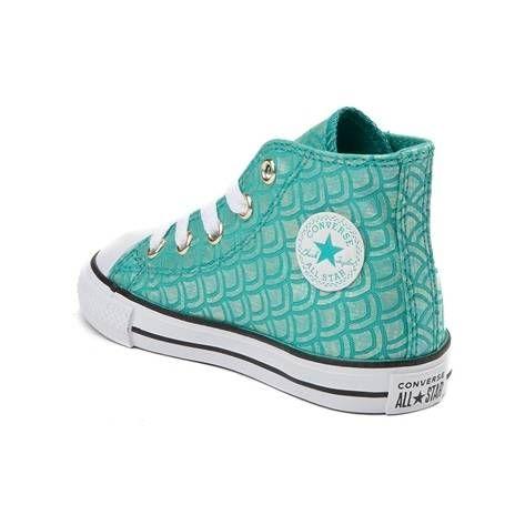 36c1843ba1b9 Toddler Converse Chuck Taylor All Star Hi Mermaid Sneaker - blue - 99399568