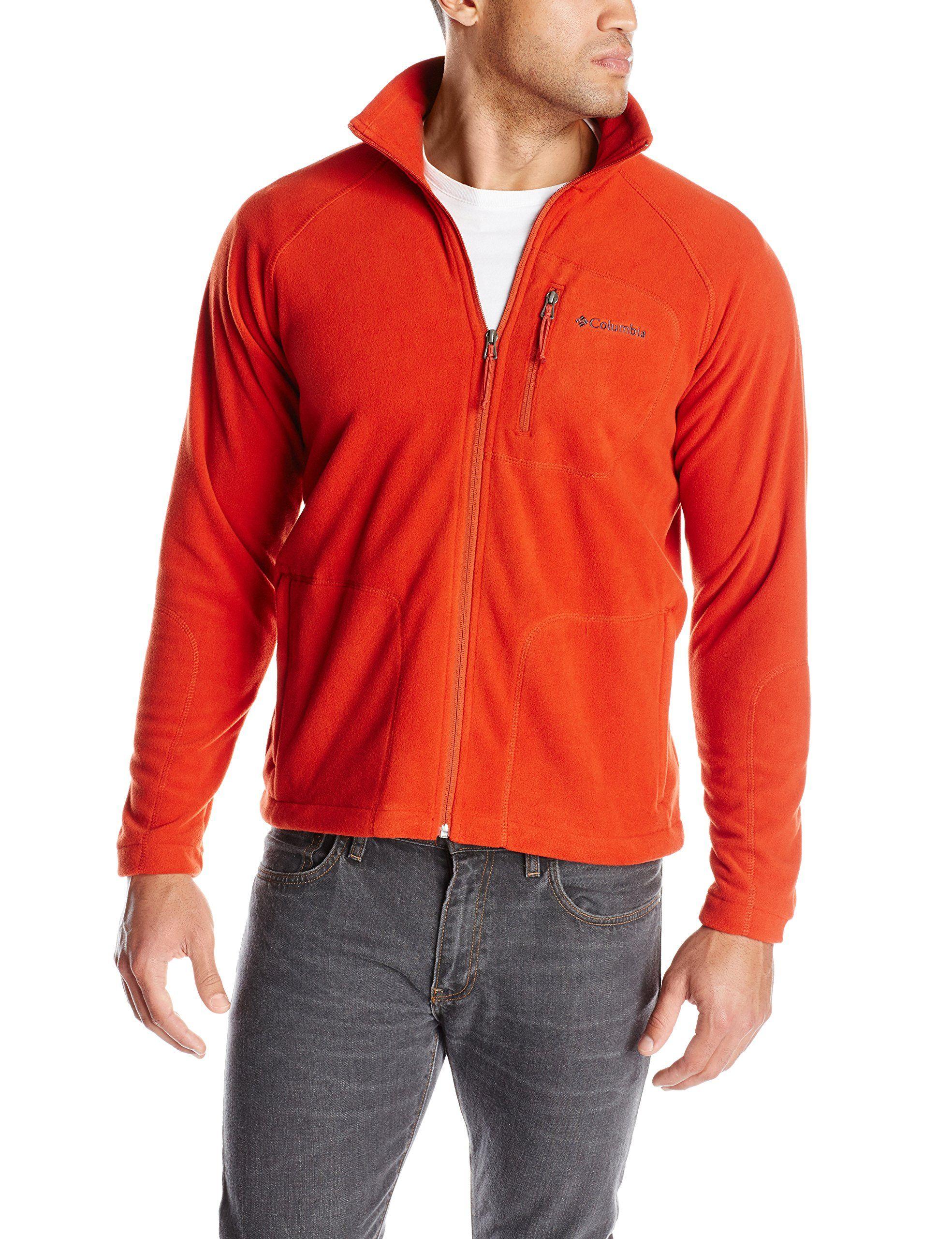0c5eb8c8 Cover: Columbia Men's Fast Trek Ii Full Zip Fleece, Flame Sweet in its  simplicity