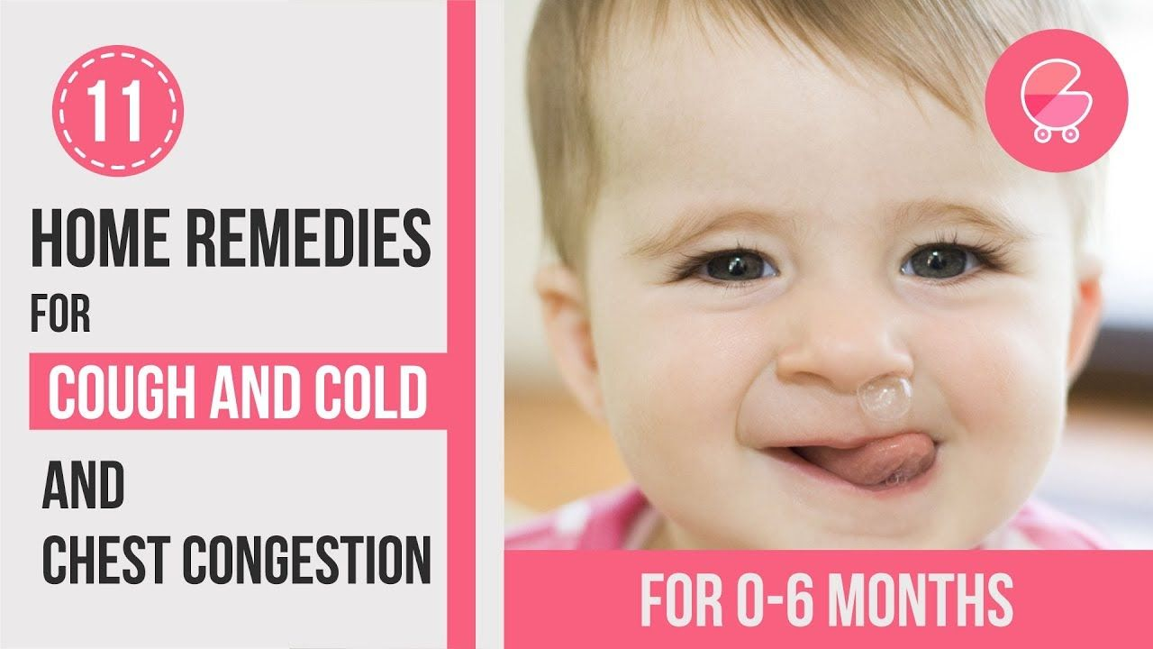 Treat Cough Cold At Home Remedies For 0 6 Months Old Babies Youtube One Month Old Baby Best Cough Remedy Baby Cough Remedies