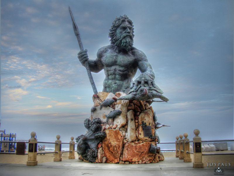 King Neptune Virginia Beach Oceanfront Boardwalk