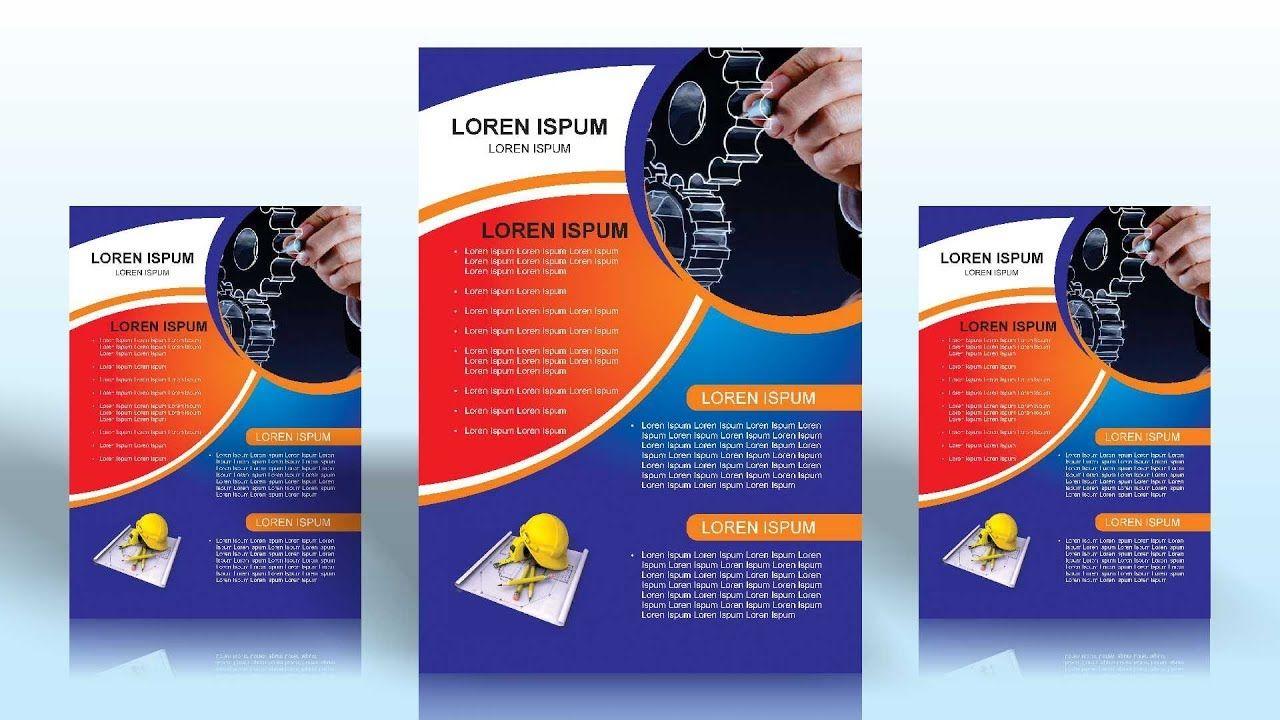 Flyer Design 2 In Corel X7 Coreldraw Tutorials For Beginners Flyer Flyer Design Coreldraw Flyer