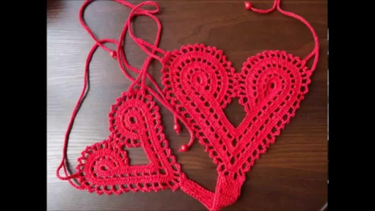 How to Crochet Panties Free Pattern | Häkelmützen, Bademode und Bikini