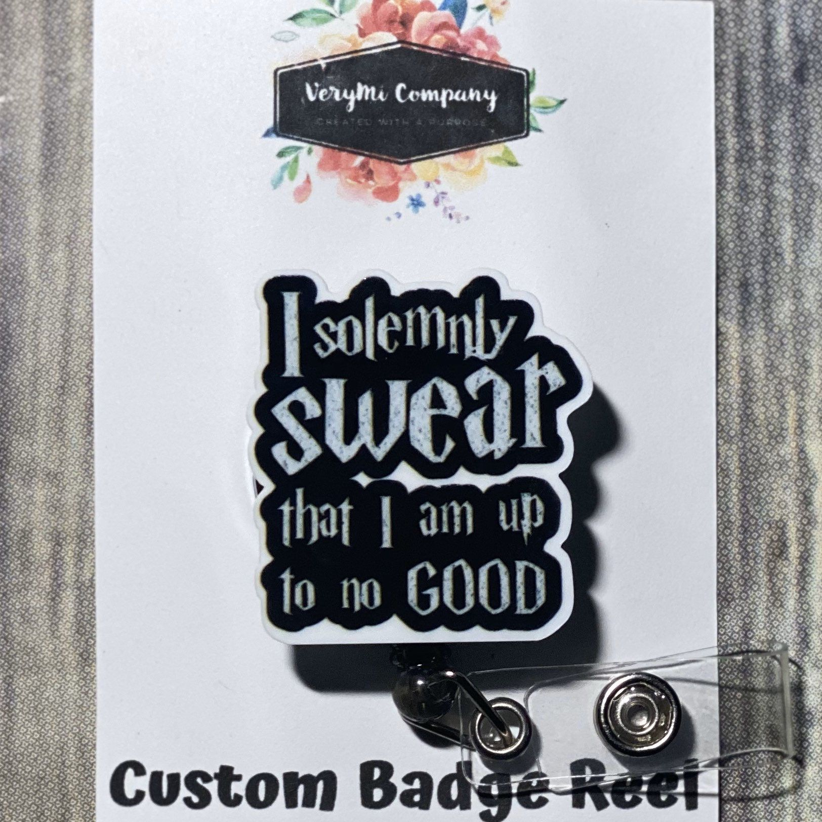 Harry Potter I solemnly swear that I am up to no good badge