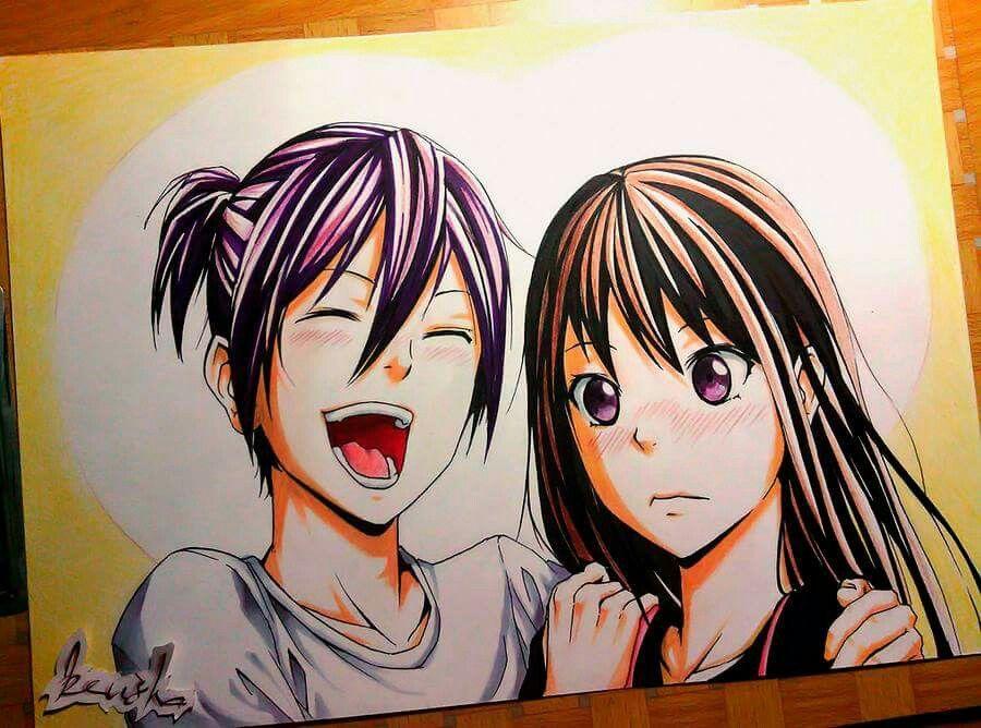Yato and Hiyori ♡ - Noragami