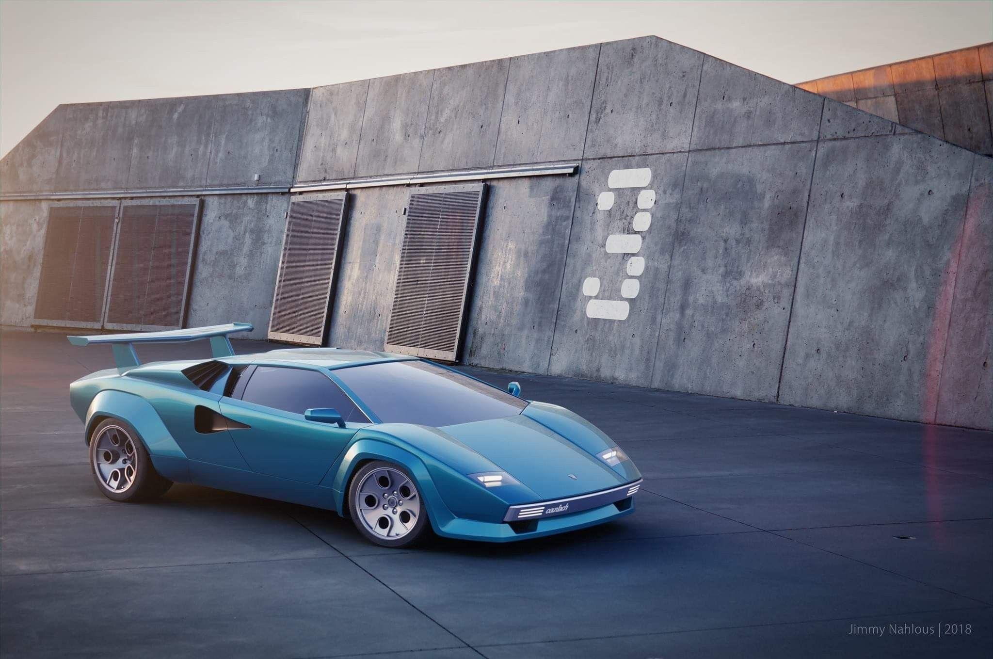 Pin by mike mckinney on Lamborghini Countach