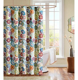 And The Shower Curtain To Match My Comforter Paisley Shower