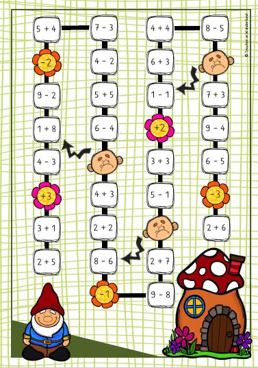 Mathe 1 Klasse Spiele