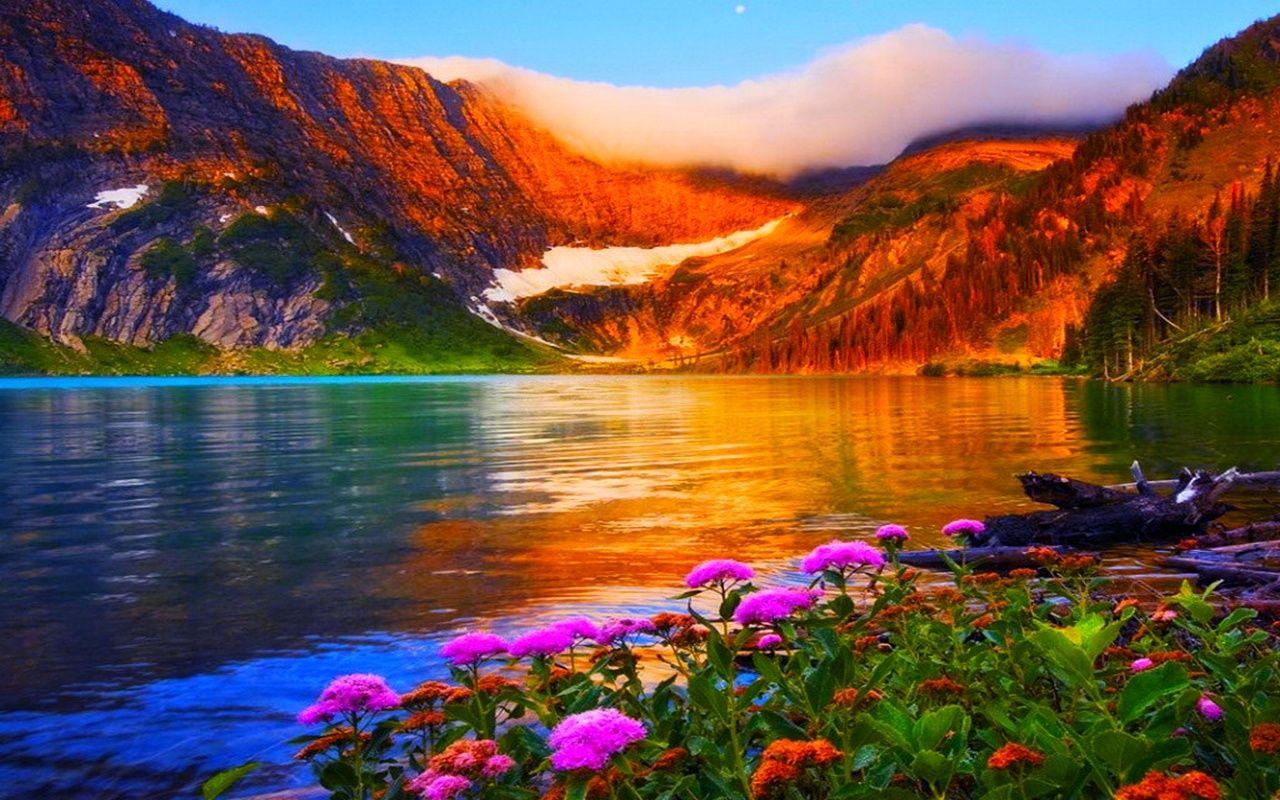 Lago de primavera wallpapers pinterest para fondo de for Fondo de pantalla primavera