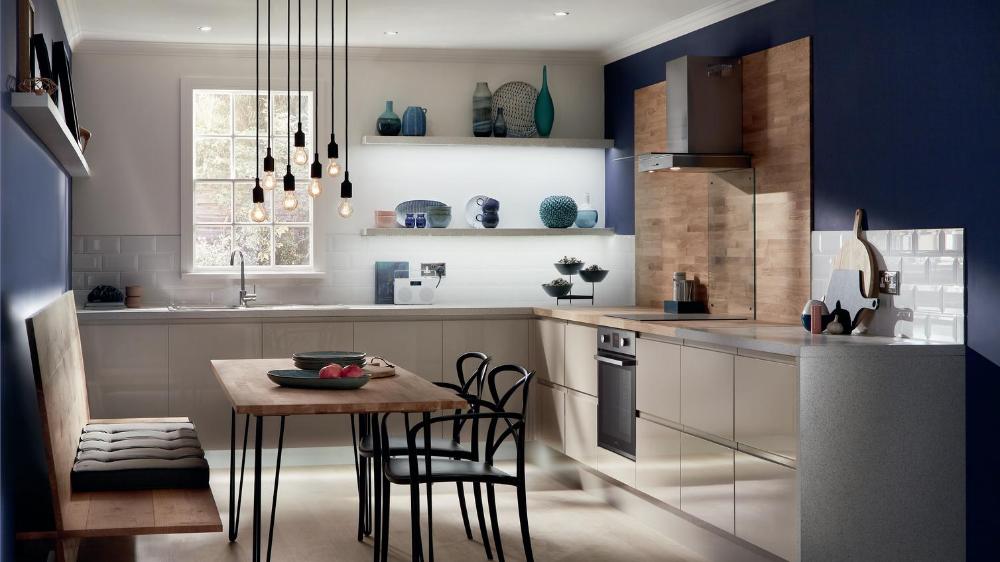 howdens cashmere kitchen Google Search Kitchen design