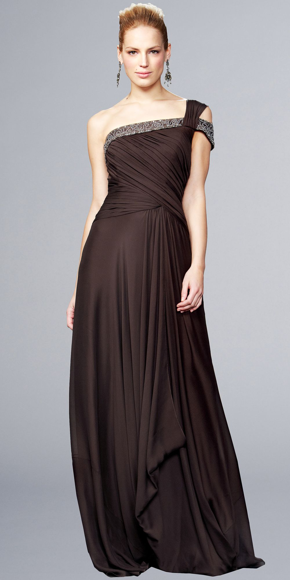 Evening-Gowns- | Formal Gowns | Pinterest | Gowns, Shoulder and ...