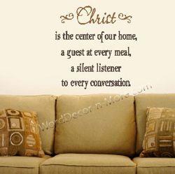Christ Is The Center Remova Jpg 250 249 Inspirational Wall Quotes Wall Quotes Inspirational Quotes Wall Art