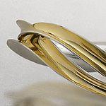 Undulated Bangle: Nancy Linkin: Bi-metal Bracelet   Artful Home