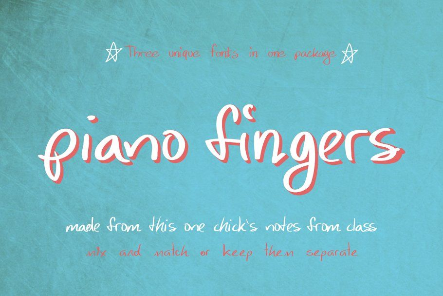 Piano Fingers in 2020 Business brochure, Unique fonts