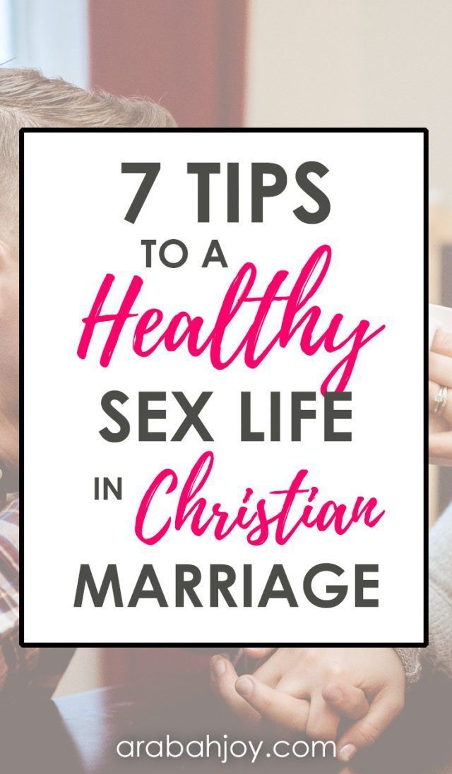 Marriage sexuality christian
