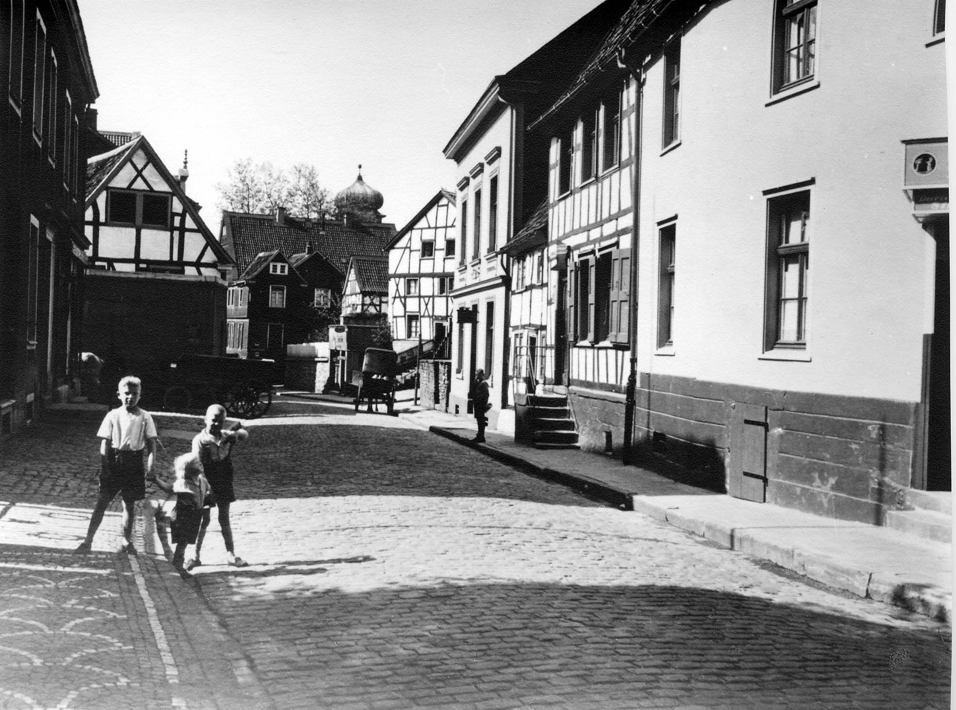 Hauptstraße, 30er Jahre, Herdecke, Westfalen Hauptstraße