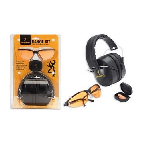 Range Kit w/Hearing Prot, Glasses