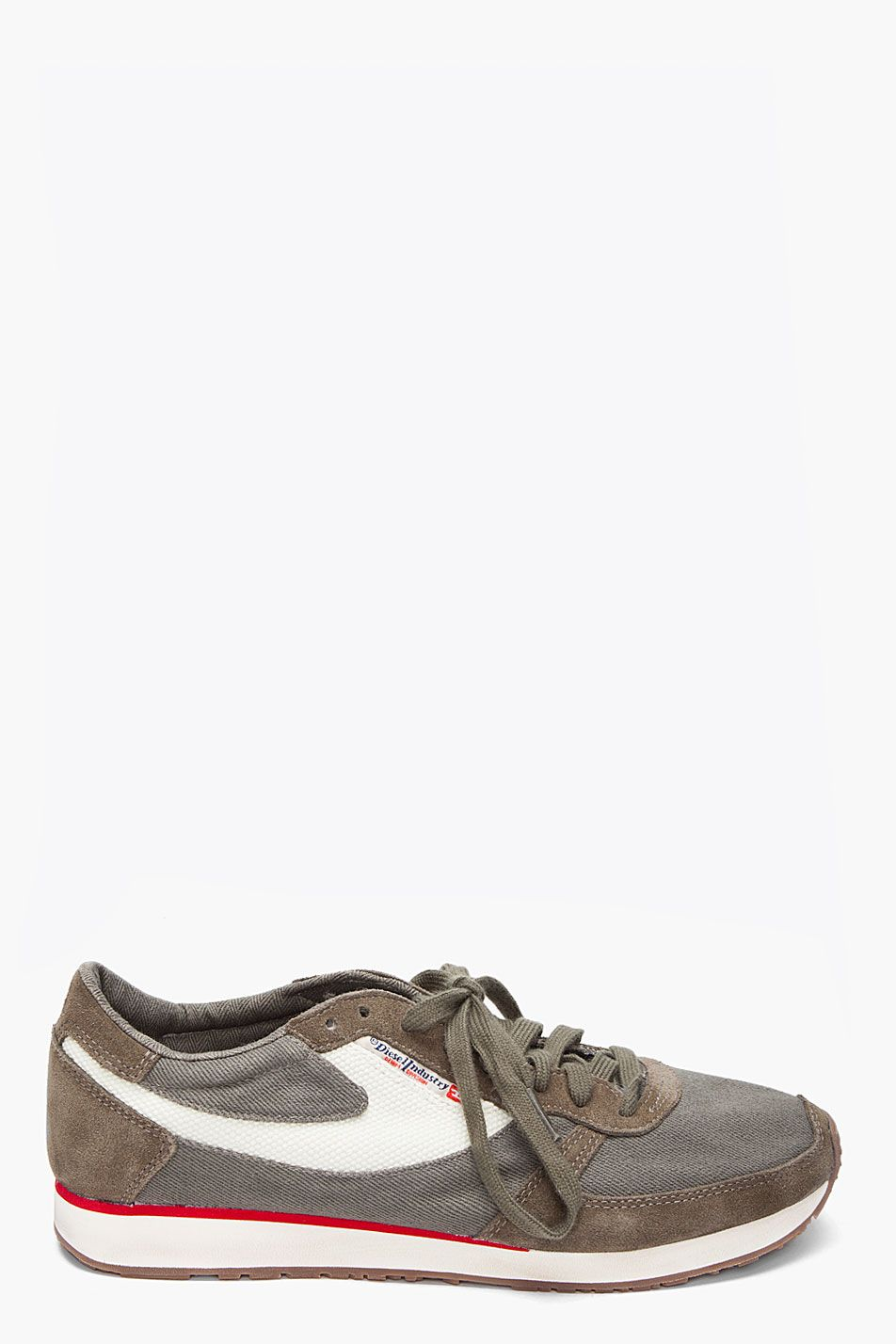 Fast Delivery Diesel Men Sneakers Sneakers Diesel mens Dove grey DIESEL Mens Sneakers