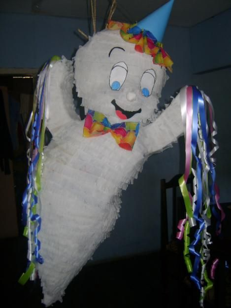 Casper Halloween Party.Ghost Party Ghost Decoration Halloween Pinata