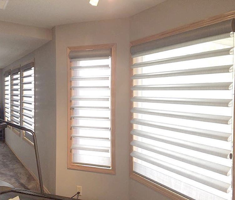 Most Popular Hunter Douglas Shade This Month Has Been Pirouettes A Popular Window Covering In Janu Popular Window Coverings Window Coverings Window Treatments