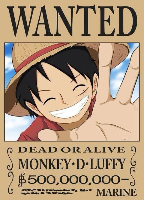 10 Mugiwara Bounties Ideas One Piece Bounties One Piece Luffy One Piece Anime