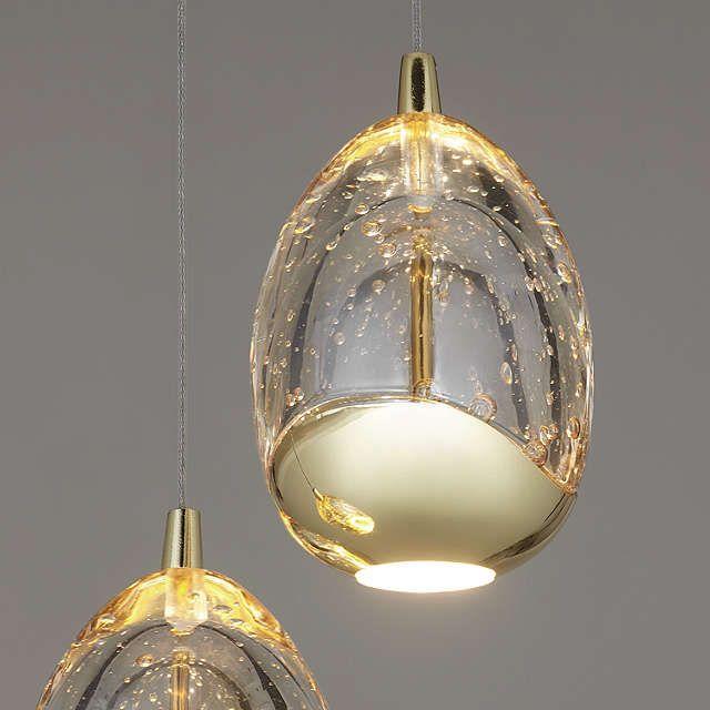 Buyjohn lewis 3 droplet led pendant ceiling light gold online at buyjohn lewis 3 droplet led pendant ceiling light gold online at johnlewis aloadofball Images