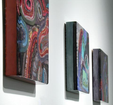 Josie Lewis, resin and paper, 2008