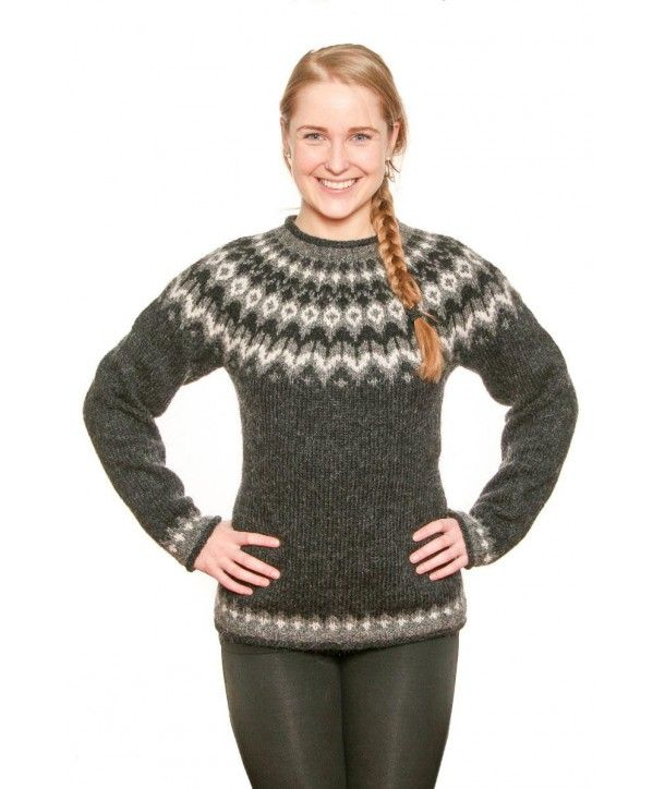 The Grey Knight Is Made From Icelandic Lettlopi Wool Yarn The