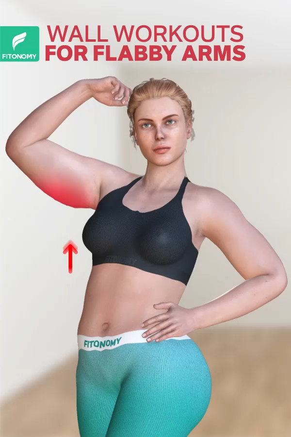 Photo of WALL WORKOUT FOR FLABBY ARMS
