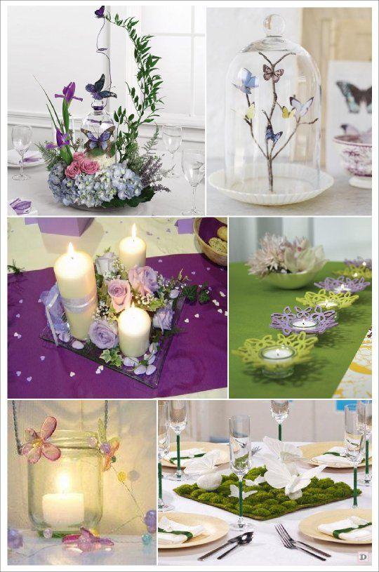 decoration mariage papillon