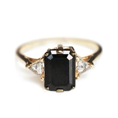 Black Diamond Bea Ring from Bona Drag