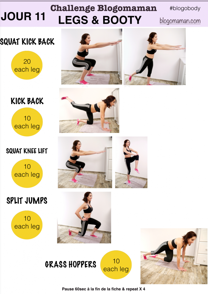 Épinglé par virginie47 sur blogobody | programme fitness, exercice