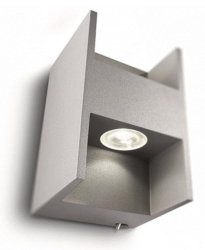 Philips Ledino LED-Wandleuchte Metric, 2 x 2,5 W, 2 x 115 lm, 7,4 x