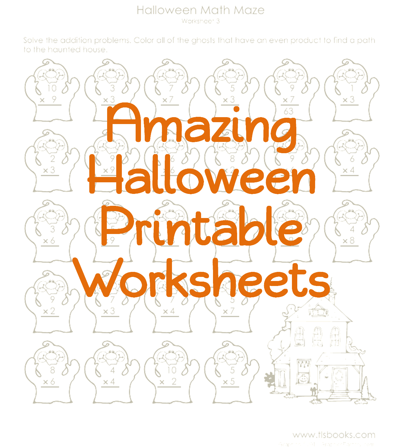 Halloween Printable Worksheets Add A Little Learning In With All That Candy [ 1427 x 1277 Pixel ]