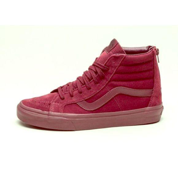 Vans Sk8 Hi Reissue Port Royale Skate Shoes