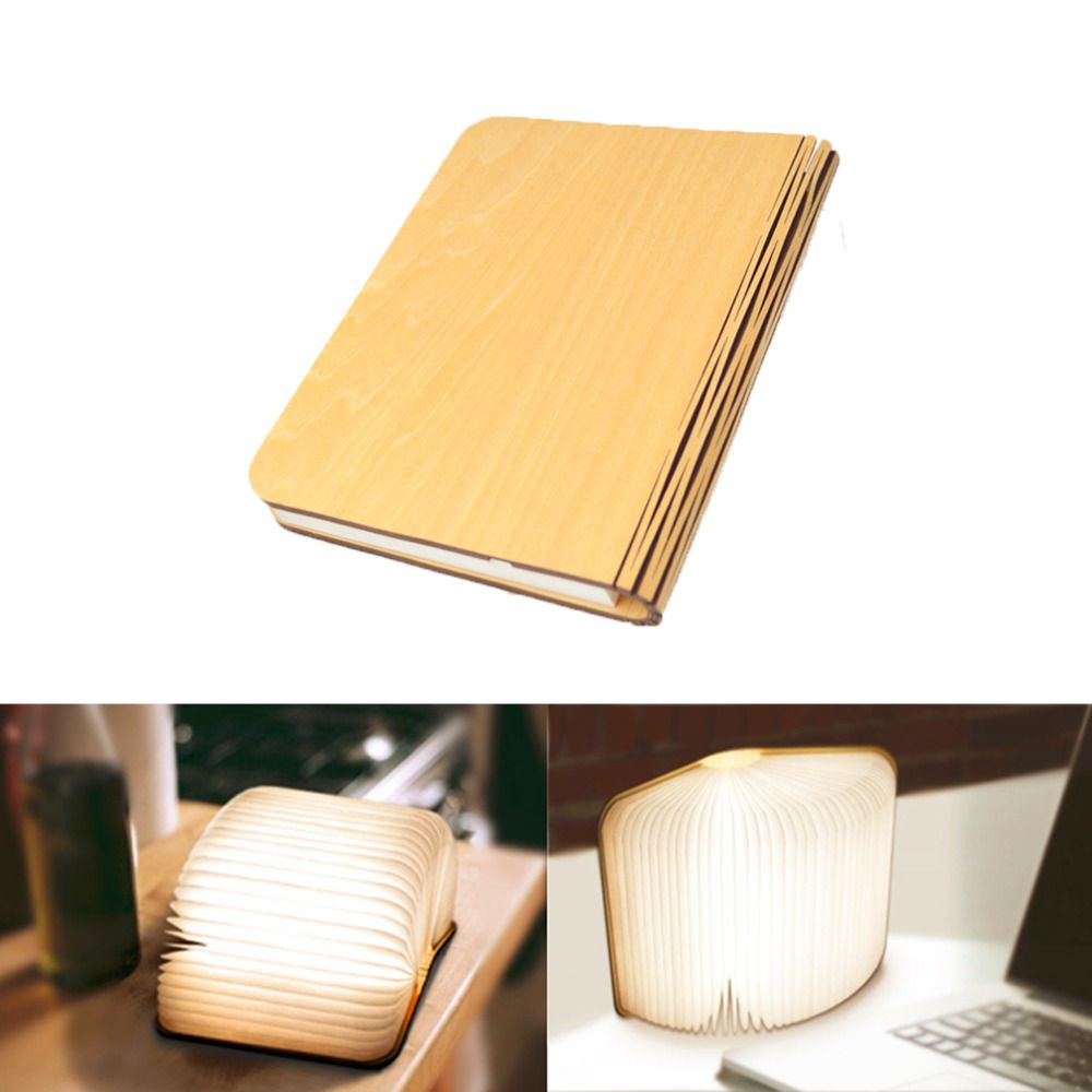 Led Rechargeable Book Lamp Ledrechargeable Booklamp Bigstartrading Book Lamp Night Light Lamp Wooden Books