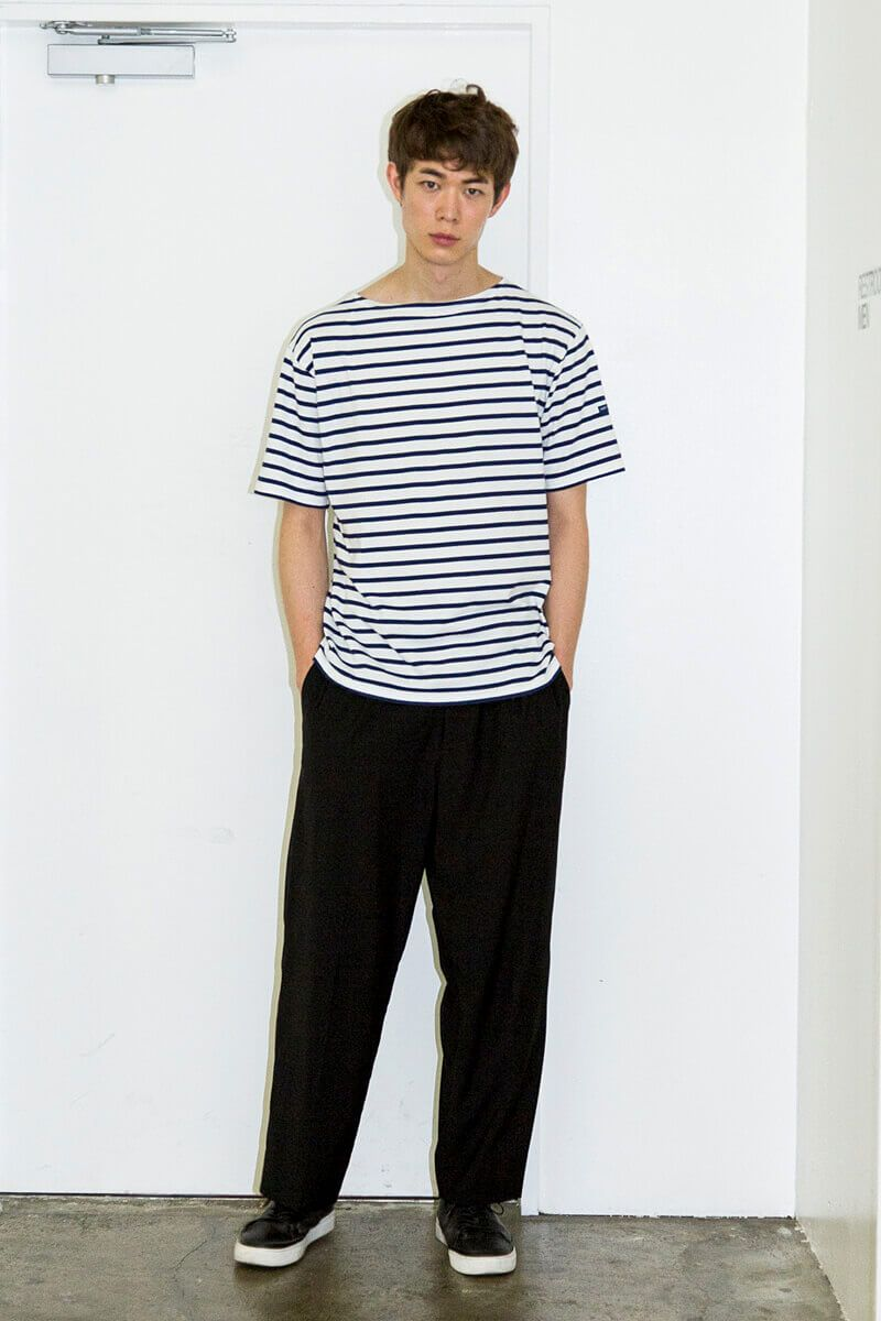 セントジェームス のボーダーは 爽やかで夏らしい メンズノンノ 古着 シャツ ファッション