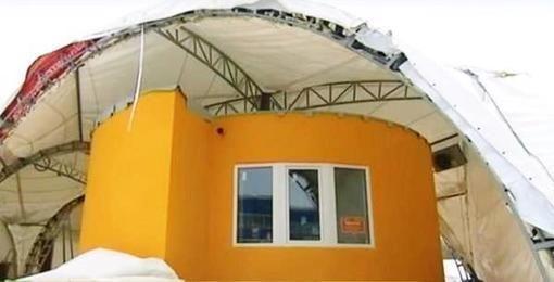 Une maison de 37 m2 imprimée en 3D près de Moscou - Techno