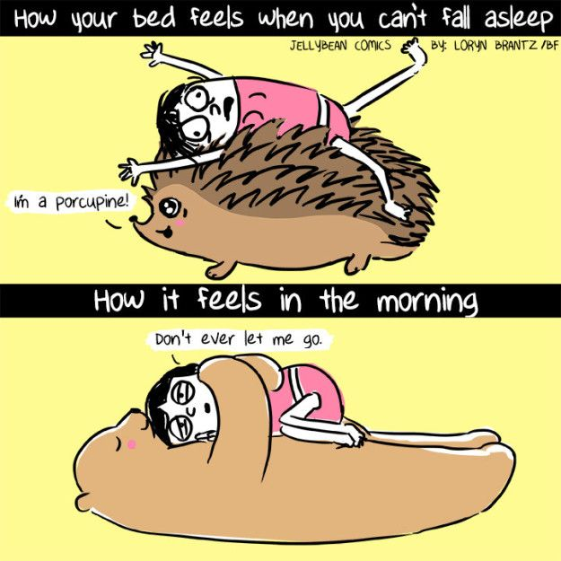 As Humans Get Older They Become Less Skilled At Getting To Sleep Relatable Jokes Funny Comics