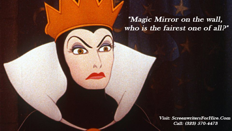 Movie Quote For Snow White And The Seven Dwarves Magic Mirror On
