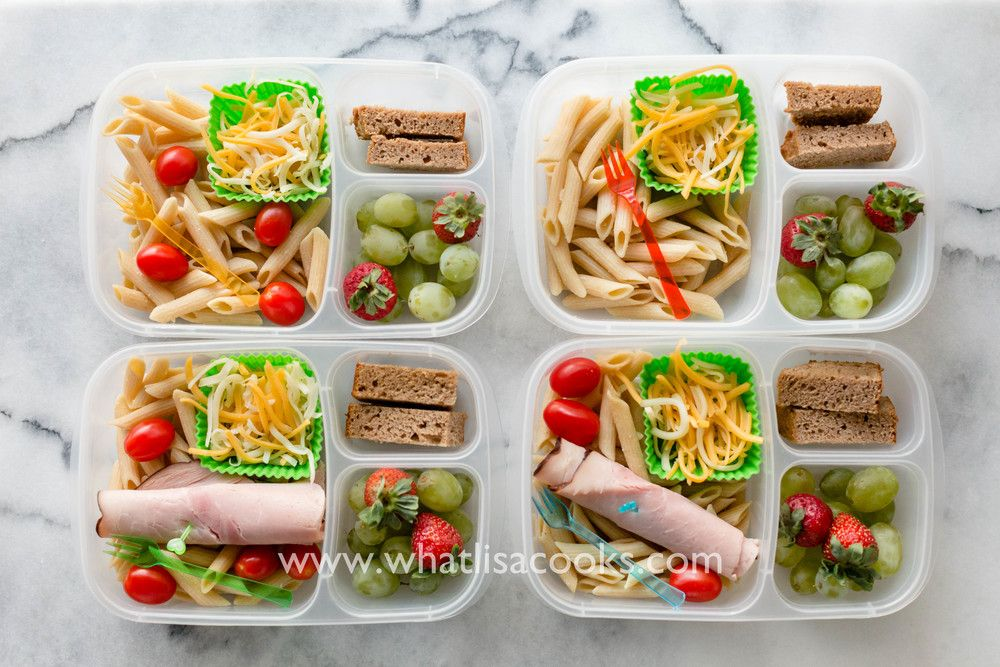 School Lunch Day 22 Easy Cold Pasta Lunch Pasta Lunch Super Easy Dinner Cooking