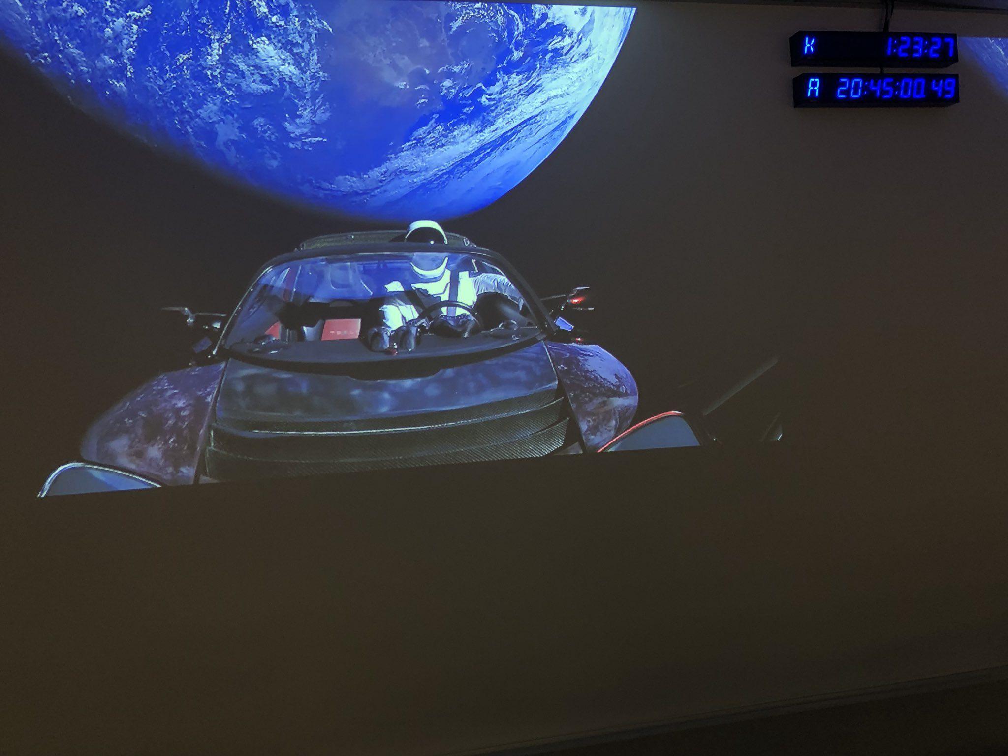 Elon Musk on Falcon heavy, Elon musk, Tesla roadster