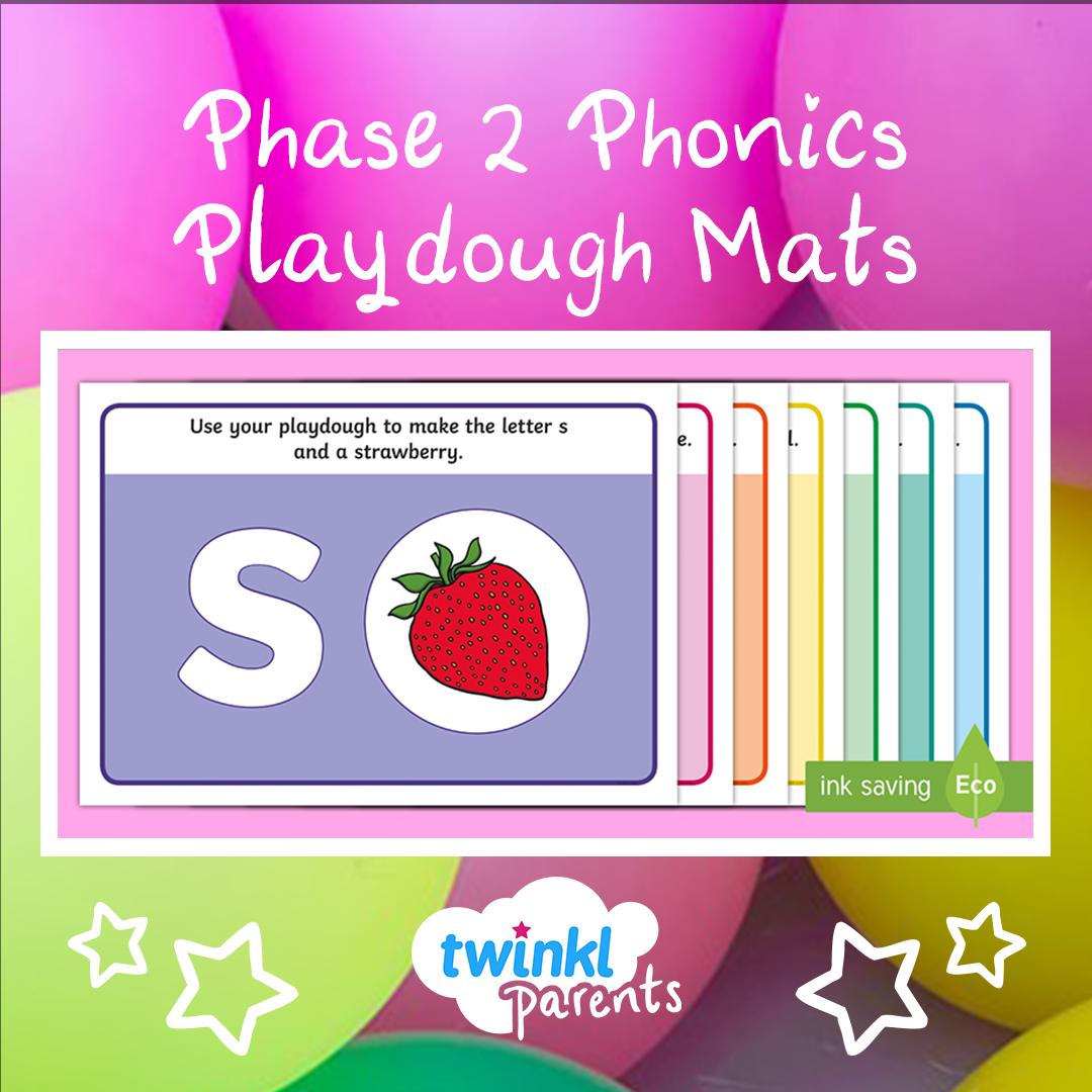 Use These Playdough Mats To Support Your Child In Learning