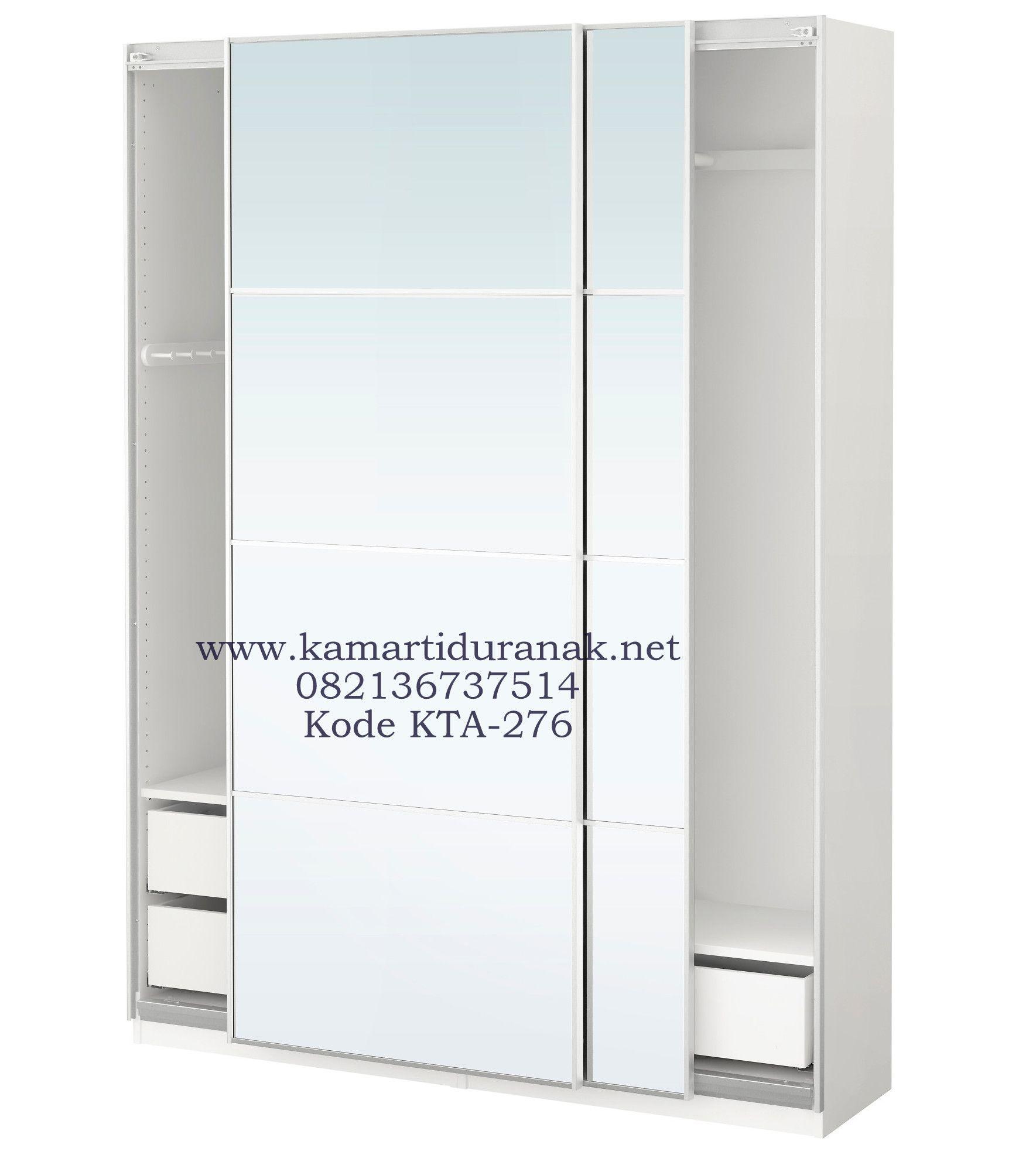 Jual Lemari Anak Pintu Sliding Minimalis 2 Doors Modern, Lemari ...