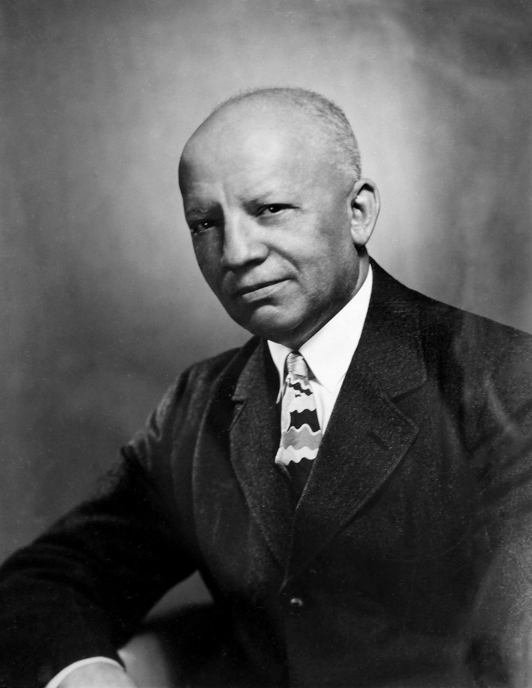 The Man Behind Black History Month Black history