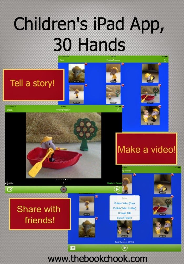 Children's iPad App, 30 Hands (With images) Ipad apps