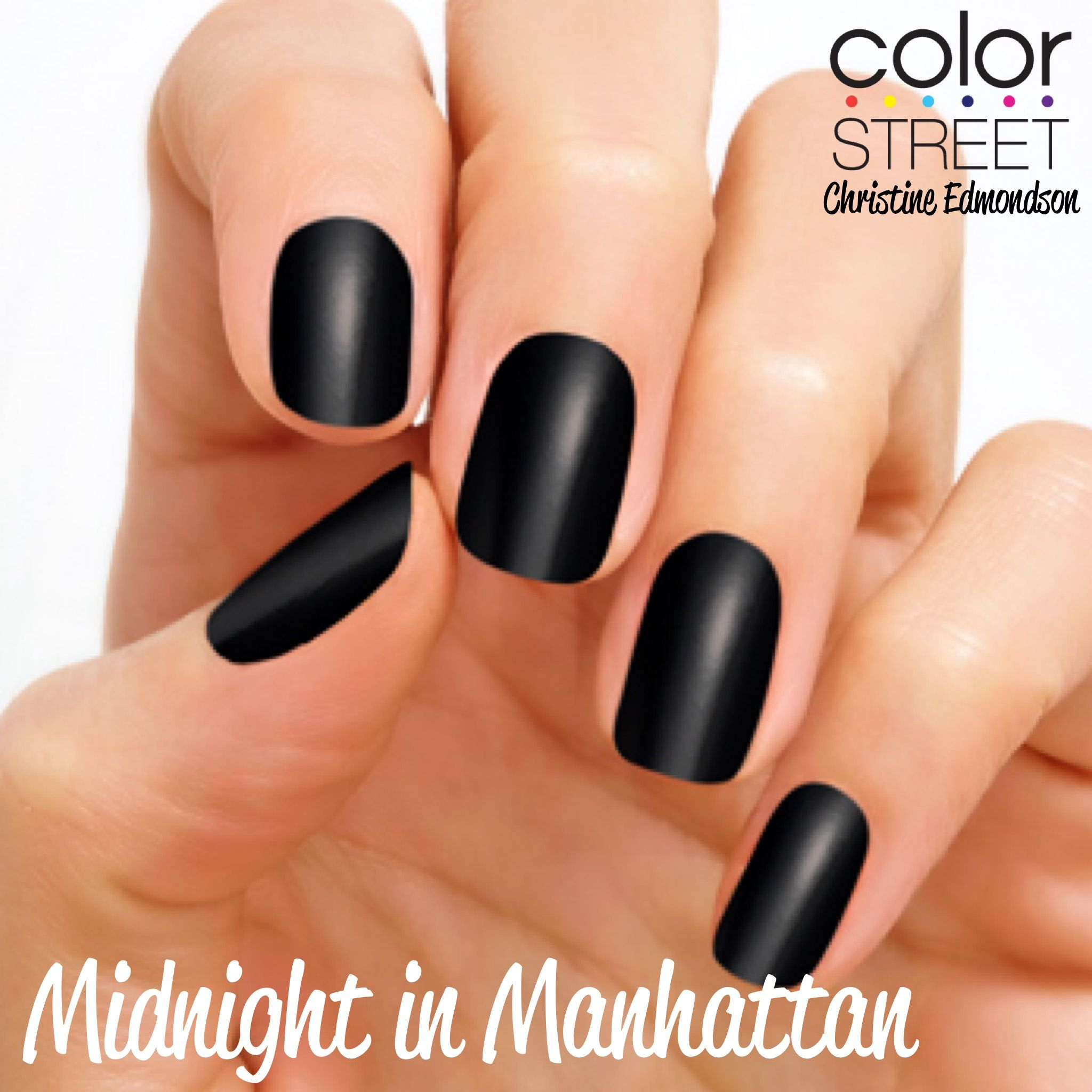 Midnight in Manhattan - 100% nail polish strips that require NO ...