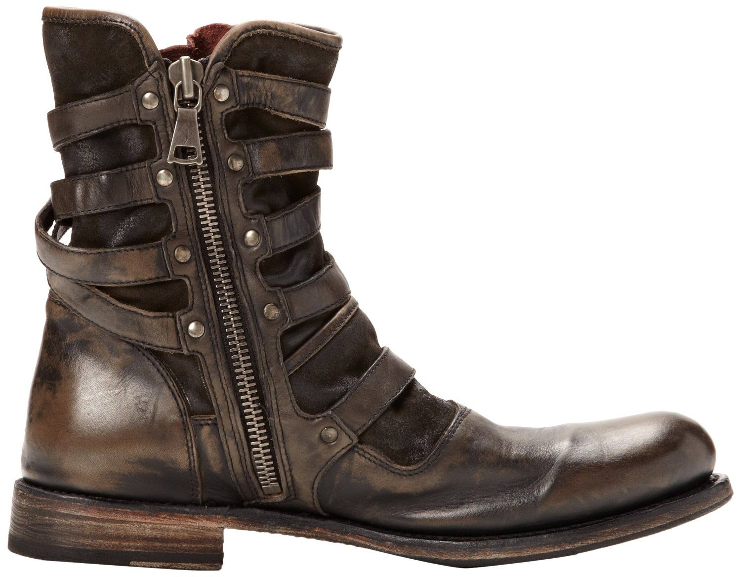 Men S Boots Images John Varvatos Men S Eg Triple Buckle Boot