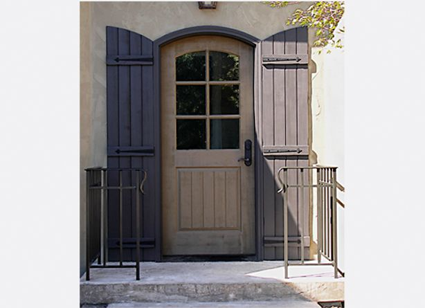 Exterior Shutters | Exterior Door Photographs | Image Gallery | Rockwood Door and Millwork . & Exterior Shutters | Exterior Door Photographs | Image Gallery ...
