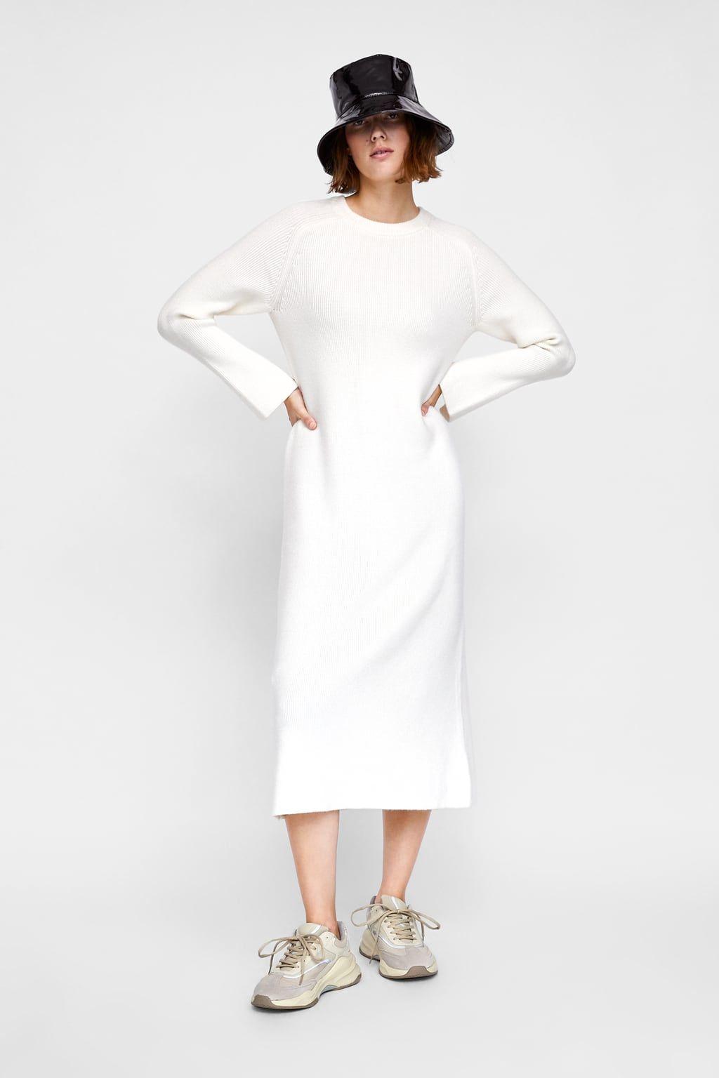 29876470 Zdjęcie 1 DŁUGA SUKIENKA Z DZIANINY z Zara Zara Outfit, Zara United States,  Knit